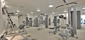 Solstice Condo - 225 Webb Drive, Mississauga L5B4P2 - Gym Exercise Amenities