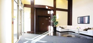 Universal Condo - 335 Rathburn Rd W - Front Entrance Lobby