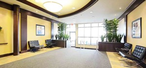 Universal Condo - 335 Rathburn Rd W - Front Entrance Lobby Lounge