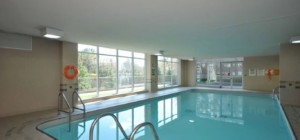 Tiara Condos - 156 Enfield Place Mississauga L5B 4L8 - Indoor Pool