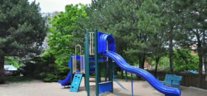 The Platinum Condo - 350 Webb Dr Mississauga L5B 3W4 - Outdoor Playground