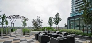 The Park Residences at Parkside Village – 4099 Brickstone Mews, Mississauga L5B0G2 - Terrace