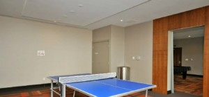 The Park Residences at Parkside Village – 4099 Brickstone Mews, Mississauga L5B0G2 - Games Room Ping Pong