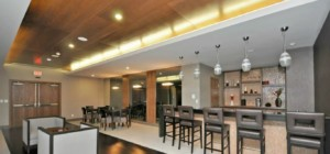 The Park Residences at Parkside Village – 4099 Brickstone Mews, Mississauga L5B0G2 - Bar Lounge