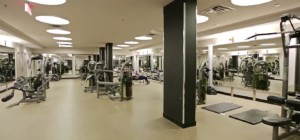 Absolute World V – 60 Absolute Avenue Mississauga L4Z 0A9 - Gym