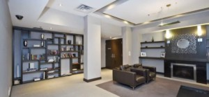 Marilyn Monroe Condos - Absolute World 5 - 50 Absolute Avenue Mississauga L4Z 0A9 - Library