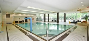 Marilyn Monroe Condos - Absolute World 5 - 50 Absolute Avenue Mississauga L4Z 0A9 - Indoor Pool