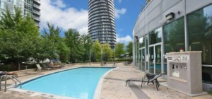 Marilyn Monroe Condos - Absolute World 5 - 50 Absolute Avenue Mississauga L4Z 0A9 - Outdoor Pool