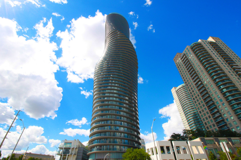 Marilyn Monroe Condo - Absolute World 6 – 60 Absolute Avenue Mississauga L4Z 0A9 - Hero