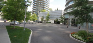 70 Absolute Avenue - Absolute World - Mississauga - Roundabout Entrance Driveway