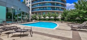 Absolute World V – 60 Absolute Avenue Mississauga L4Z 0A9 - Outdoor Pool