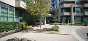 City One Condos - 1 Elm Drive Mississauga - Entrance Amenities