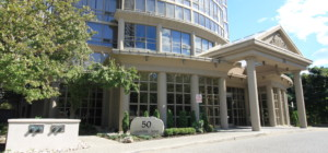 Esprit Condo - 50 Eglinton Ave W Mississauga, L5R 3P5 - Front Lobby Entrance from SquareOne.Condos