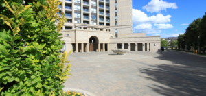 Tuscany Gates Condo - 220 Forum Dr, Mississauga L4Z 4K1 - Front Lobby Entrance from SquareOne.Condos