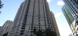 Ovation 1 - 3880 Duke of York Blvd, Mississauga, L5B 4P5 - Front Lobby Entrance from SquareOne.Condos