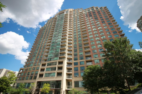 Tiara Condos - 156 Enfield Place Mississauga L5B 4L8 - Building Exterior