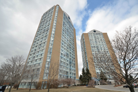 Anaheim Tower 1 - 25 Trailwood Drive Mississauga L4Z 3K9 - Building Exterior