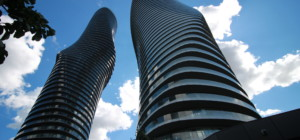 Marilyn Monroe Condos - Absolute World 5 - 50 Absolute Avenue Mississauga L4Z 0A9 - Building Exterior