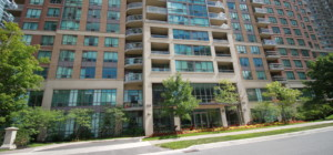 Tiara Condos - 156 Enfield Place Mississauga L5B 4L8 - Front Entrance