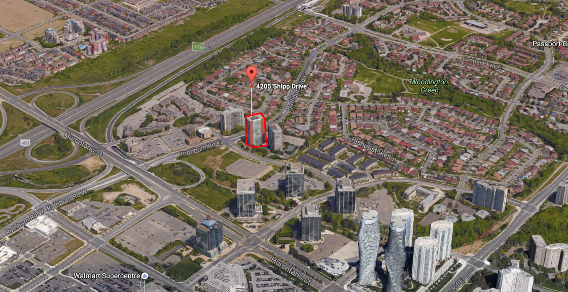 Chelsea Towers - 4205 Shipp Dr, Mississauga, L4Z2Y8
