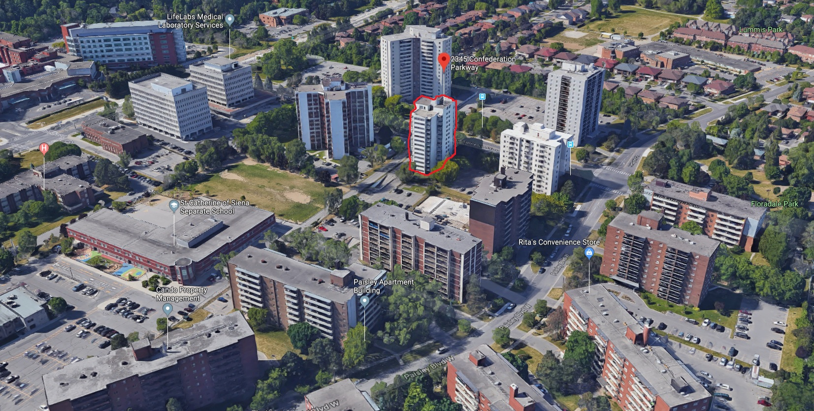 2345 Confederation Pkwy, Mississauga, ON, L5B 2H3, Canada