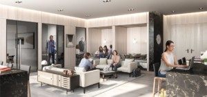 Wesley Tower Condos - 360 City Centre Dr, Mississauga, ON L5B 0C3
