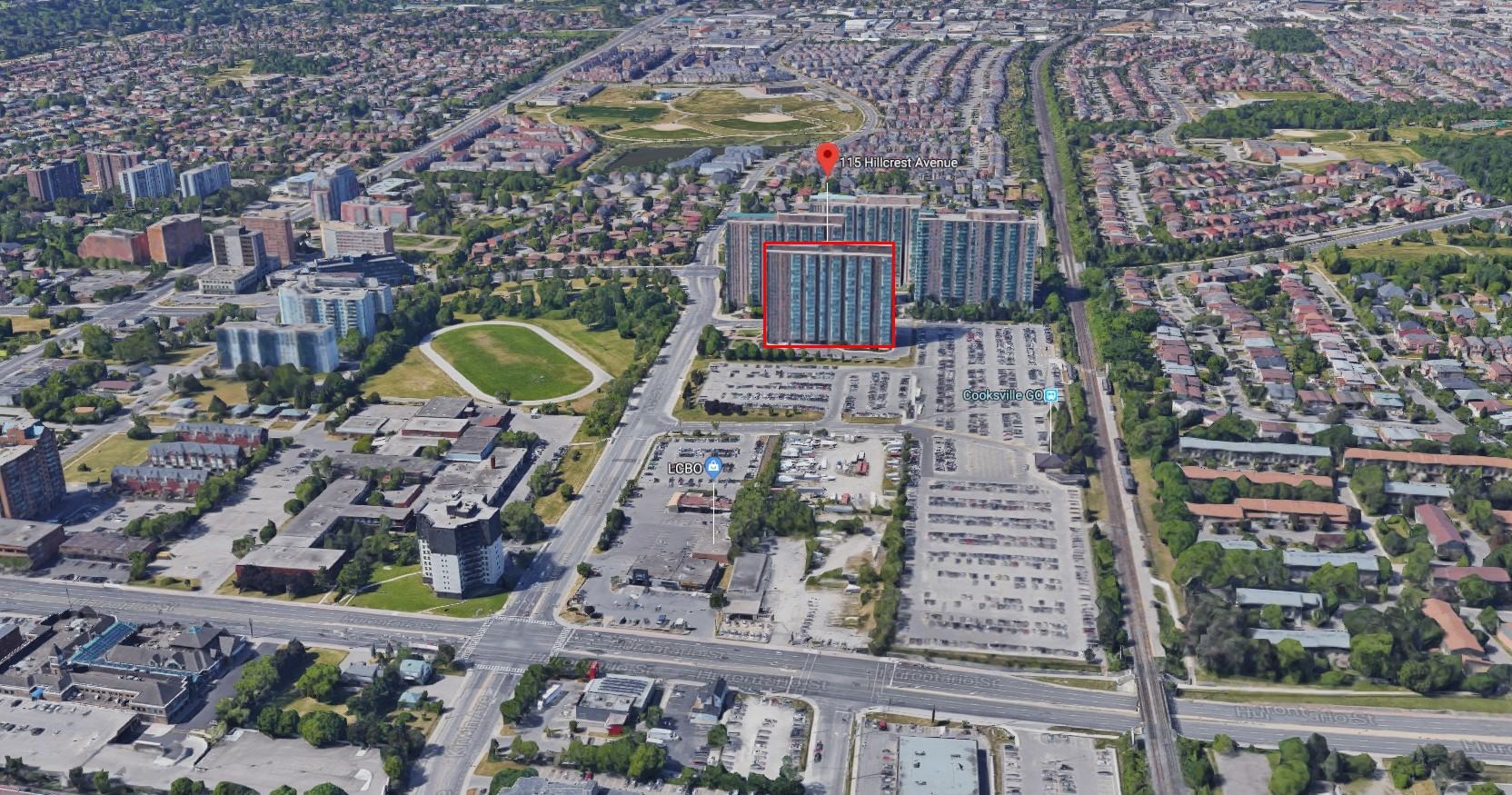 The Carlyle 2 Condos - 115 Hillcrest Ave, Mississauga, ON L5B 3Y9